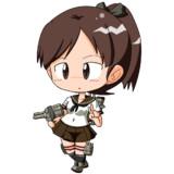 艦これ:敷波version2(KanColle:Sikinami)