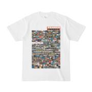 シンプルデザインTシャツ TANKER_on300(CHOCOLATE)