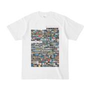 シンプルデザインTシャツ TANKER_on300(THISTLE)