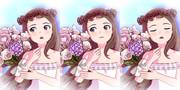 【MMD】草冠と花束と【水瀬伊織】