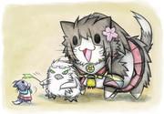 酒匂猫と大和猫