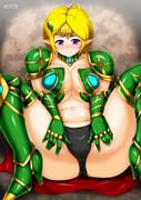 巨乳エルフ戦士