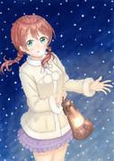 雪とエマちゃん
