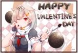 バレンタインぽいぬ