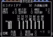 【MD】スーパー大戦略:63ガタIFV