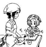 お菓子作り(東郷あい/龍崎薫)