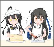 みかしも共同特製チョコケーキづくり!!