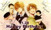 【お誕生日】神谷さん&平和島さん【おめでとう】