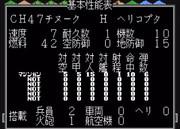 【MD】スーパー大戦略:CH47チヌーク