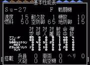 【MD】スーパー大戦略:Su-27