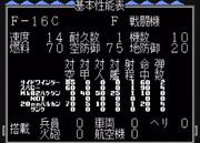 【MD】スーパー大戦略:F-16C