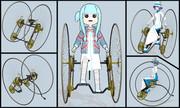 【MMDモデル配布】OTTO Dicyle v1.0