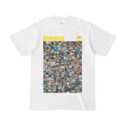 シンプルデザインTシャツ ANIMAL☆TANKER(YELLOW)