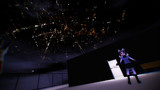 【CC0】スカイドーム:夜間光【MMDステージ配布】
