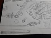 ダライアスバーストCS    仮想DLC第一弾 カンブリアソード  ※アナログイラスト