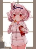 クッキーを食べるエールウィン