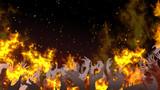 地獄の業火のフレーム