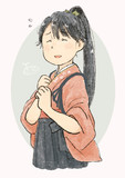 鳳翔さん笑顔