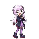 歌うチビゆかりん(立ち絵素材?
