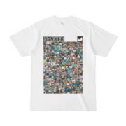 シンプルデザインTシャツ ANIMAL☆TANKER(BLACK)
