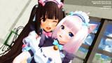 【MMDネコぱら】ショコラ&バニラ【猫の日】