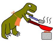 恐竜3分クッキング
