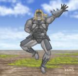 「おおッ、今まさにッ! 我が両脚は引力に叛逆せり!」 「人よ、刮目して仰ぎ見よ! この飛翔こそ解