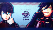 ◆ 広告御礼 ◆【MMD刀剣乱舞】MAD HEAD LOVE【土方組】
