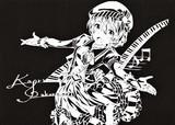 【切り絵】音楽で紡ぎ出す世界 桜守 歌織