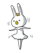 ありがとうウサギ