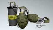 【投げたら】U.S. 手榴弾セット【アカン】