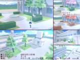 【配布】君咲学院の中庭と屋上