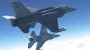 【更新】F-16E_V3.0a【MMDモデル配布】