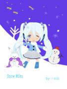 雪ミクとユキネ