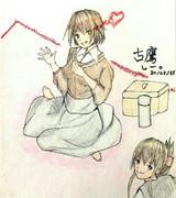 古鷹さんとお絵描き練習3