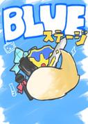 BLUEステージポスター