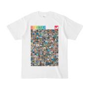 シンプルデザインTシャツ ANIMAL☆TANKER(RAINBOW)