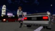 朧とAW11と夜のカモメ町