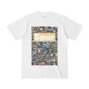 シンプルデザインTシャツ Spur/176_A(KHAKI)