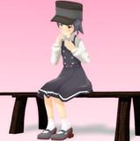 【MMD艦これ】霰嬢の物思い…【座り姿の練習】