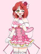 3月1日はピンクが似合う上原歩夢ちゃんの誕生日