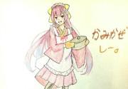 神風さんとお絵描き練習9