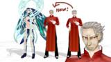 【Fate/MMD】老師の新規ヘッド&ついでに規格統一【モデル更新】