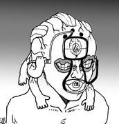 最近視力が落ちたのでハイカラな眼鏡をかける玉壺さん