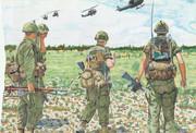 第1歩兵師団第18歩兵連隊 サイゴン近郊