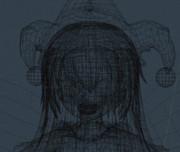 【Blender】3Dクラピ【東方GIF】