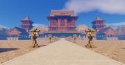 Minecraft 中華風寺院