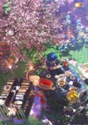 お花とお茶と読書。