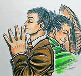 シェンムー3_張さんと貝老師