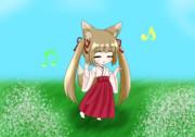 巫女狐よしのん
